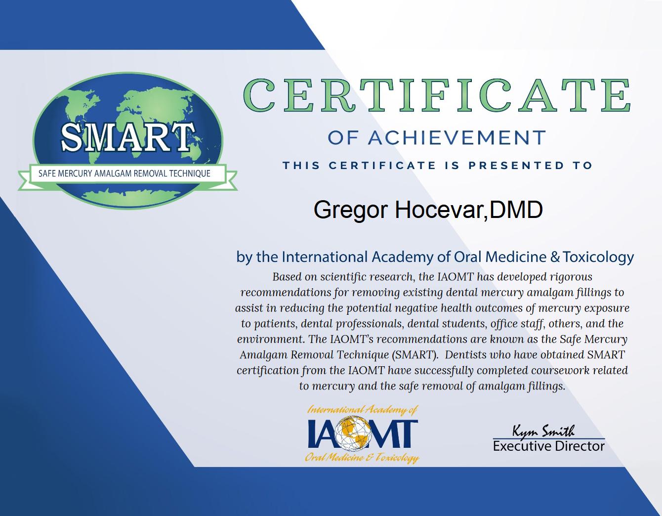 Certifikat smart