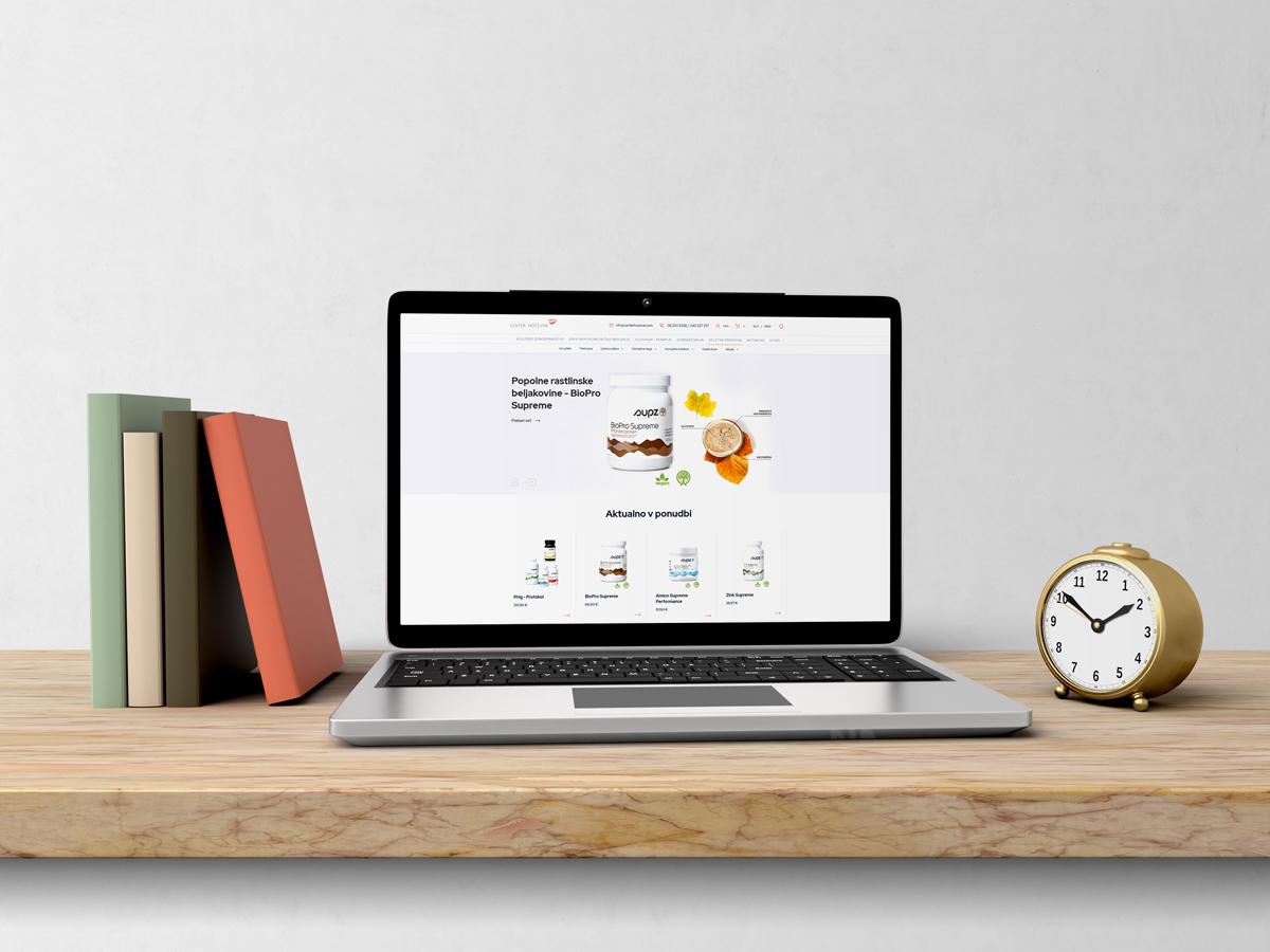 Mockup webside